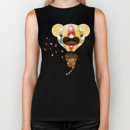 Chestnut Girl Balloon!!! Biker Tank