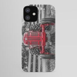 IH 300 Selective Red Crop Tractor Vintage Farming Equipment Antique Farm Machinery iPhone Case