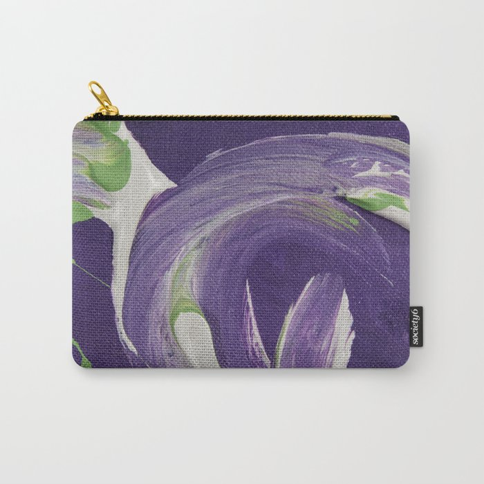 Sitting Figure Carry-All Pouch