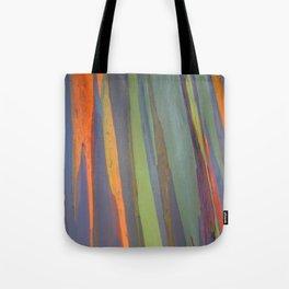 Rainbow Eucalyptus Magic Tote Bag