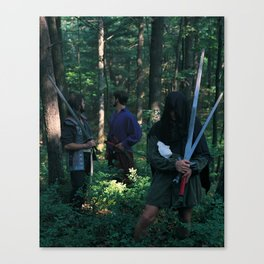 5 of Swords Canvas Print