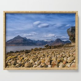 The Cuillin from Elgol, Isle of Skye Serving Tray