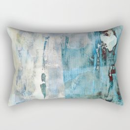 Abstracted Layers Rectangular Pillow
