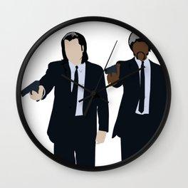 Vincent & Jules  Wall Clock