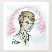 steve rogers Art Prints featuring Steve Rogers  by Ash AROUH