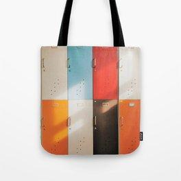 Retro Lockers Tote Bag