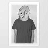 chuck Art Prints featuring Chuck by StupidDreams