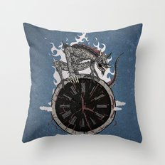 Guardian of Time Throw Pillow