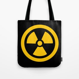 Yellow Radioactive Tote Bag
