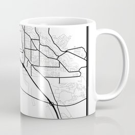 Boise Light City Map Coffee Mug