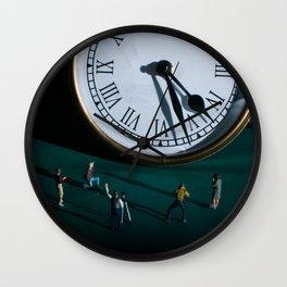 The Clock Watchers Wall Clock
