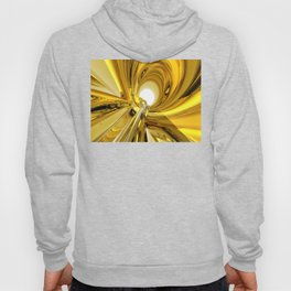 Abstract Gold Rings Hoody