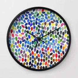 rain 19 Wall Clock