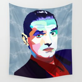 Portrait of Hans Holzel (Falco) Wall Tapestry