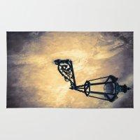 lantern Area & Throw Rugs featuring Lantern by Maria Heyens