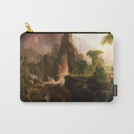 Thomas Cole - Expulsion from the Garden of Eden, 1828 Carry-All Pouch