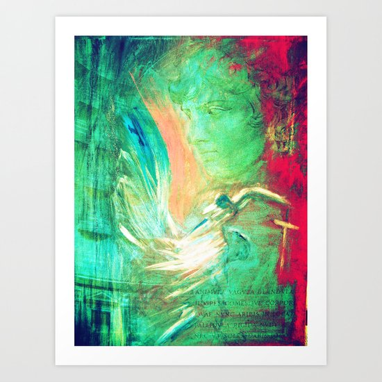 For the love of Antinous Art Print