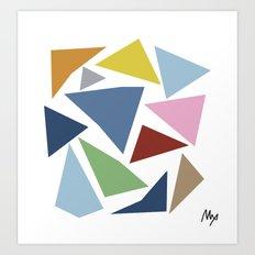 Abstraction #4 Art Print
