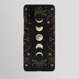 Moonlight Garden - Winter Brown Android Case