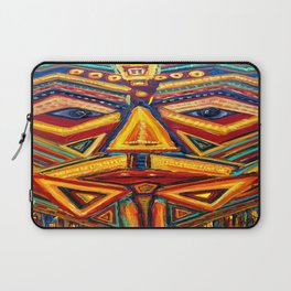 Warrior mask Laptop Sleeve