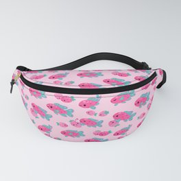 Strawberry peacock cichlid Fanny Pack