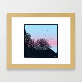 Ready for the summer! Framed Art Print