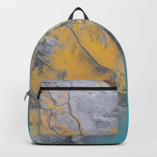 Turquoise World Backpack