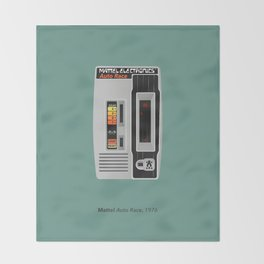 Mattel Auto Race, 1976 Throw Blanket