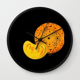 "Why aren't bananas called ""yellows""? Wall Clock"