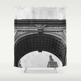 Washington Square Arch II Shower Curtain