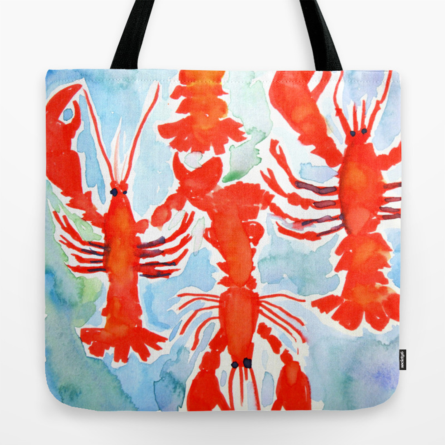 Lobster Tote Bag By Julielehite Society6