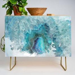 Blue Aqua Agate Credenza