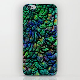 Preening Peacock Classic iPhone Skin