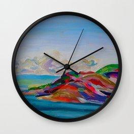 To Kelowna Wall Clock