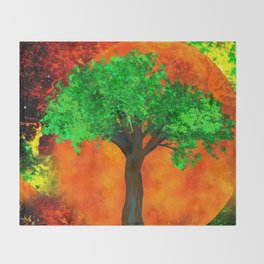 THE FOREVER TREE Throw Blanket