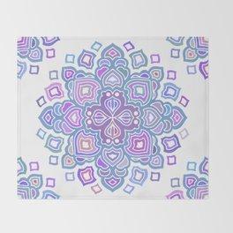 Mandala 05 Throw Blanket