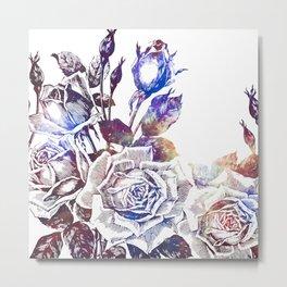 Rose Bloom Nebula Metal Print