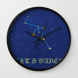 Constellations - LETs DANCE Wall Clock