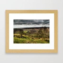 Hole of Horcum Framed Art Print