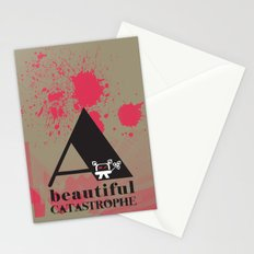 A Beautiful Catastrophe Big Stationery Cards