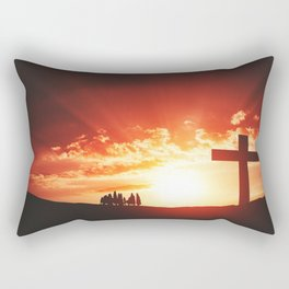 Good friday easter concept Rectangular Pillow