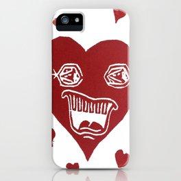 Heartache iPhone Case