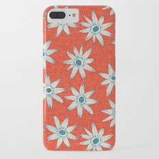 sema fire orange blue iPhone 8 Plus Slim Case