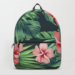 Floral Summer Pattern Backpack