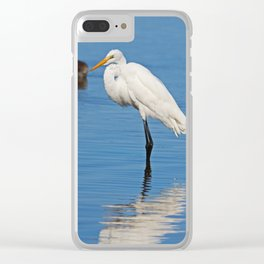 Once on a Wednesday Clear iPhone Case