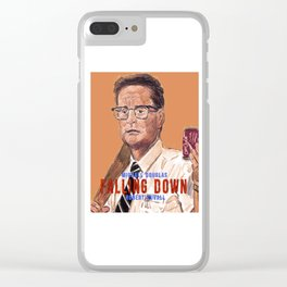 Falling Down Clear iPhone Case
