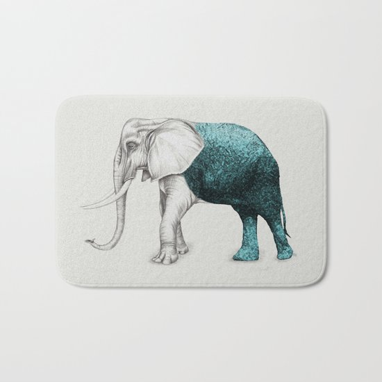 The Stone Elephant Bath Mat