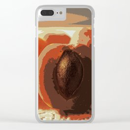 apricot Clear iPhone Case