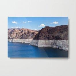 Hoover Dam II / Lake Mead Metal Print