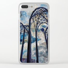 Seattle Science Center Arches Clear iPhone Case